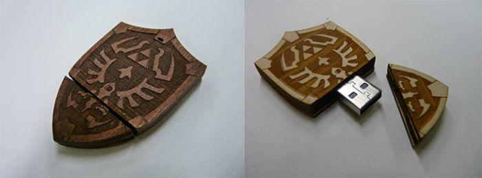 Прикольные флешки оригинальной формы