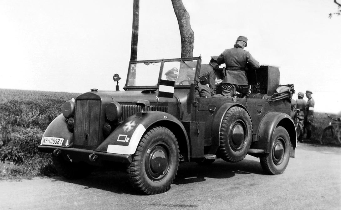 Самые распространенные джипы Второй Мировой войны