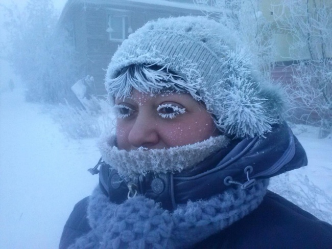 25 фотографий про зиму и лютый мороз