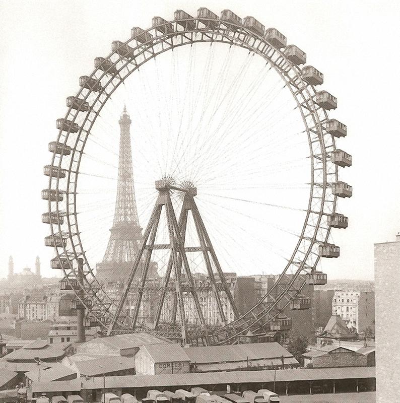 30 уникальных видов старого Парижа