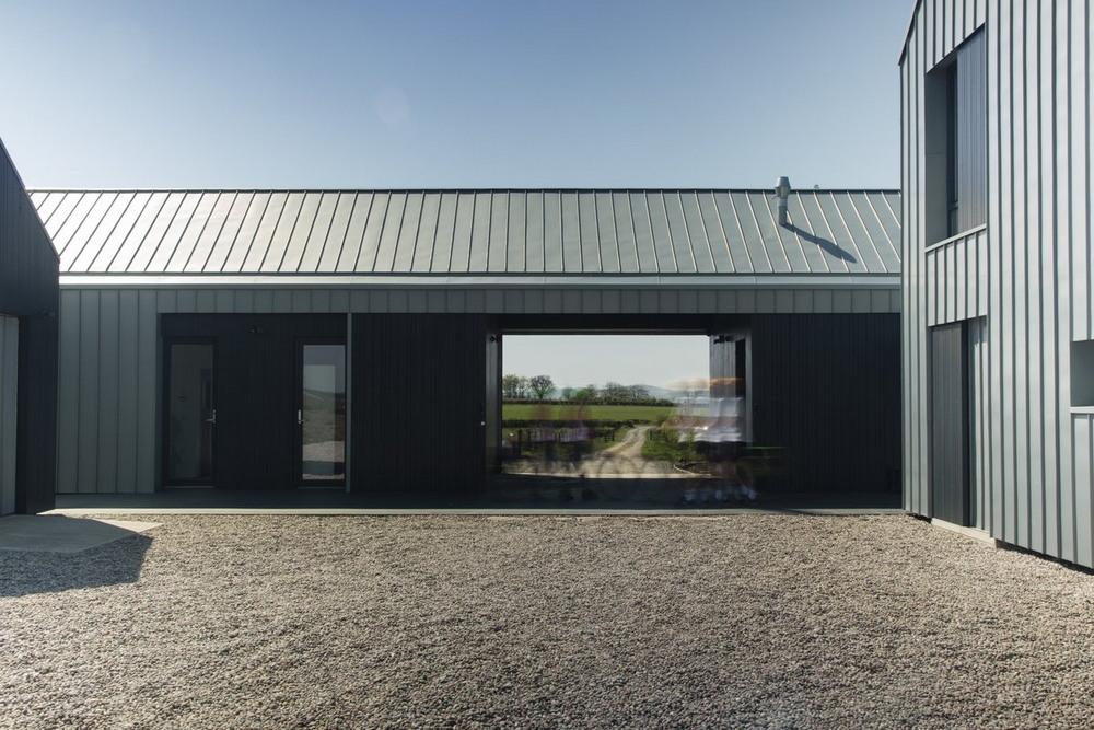 Новый фермерский дом в Шотландии
