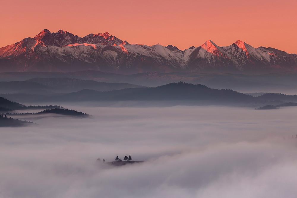 Красота польских гор зимой