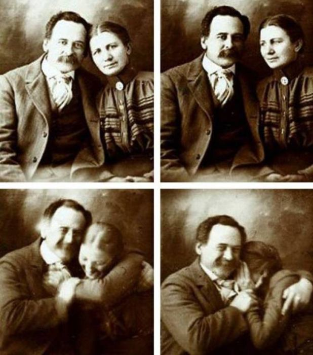 Странные снимки из прошлого