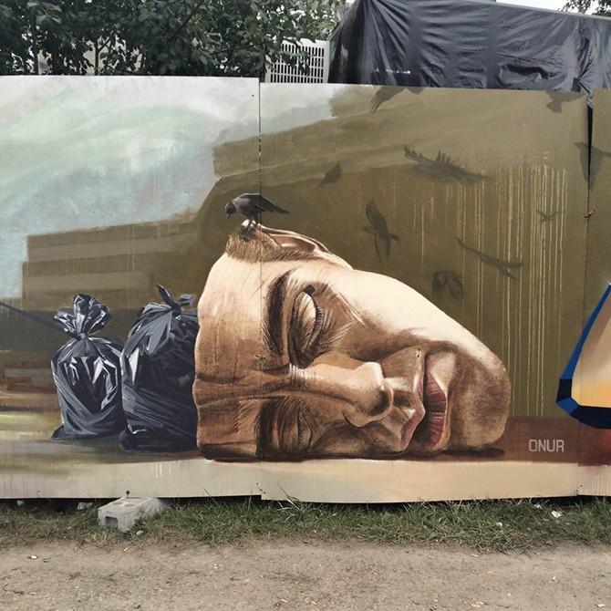 Уличное искусство, раскрывающее правду жизни