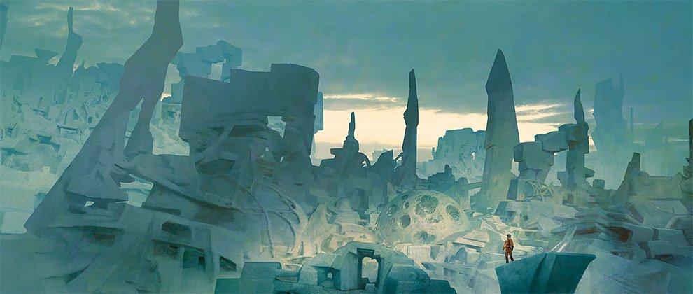 Фантастические миры от Марка Симонетти