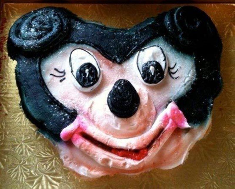 Неудачные тортики ко дню рождения детей