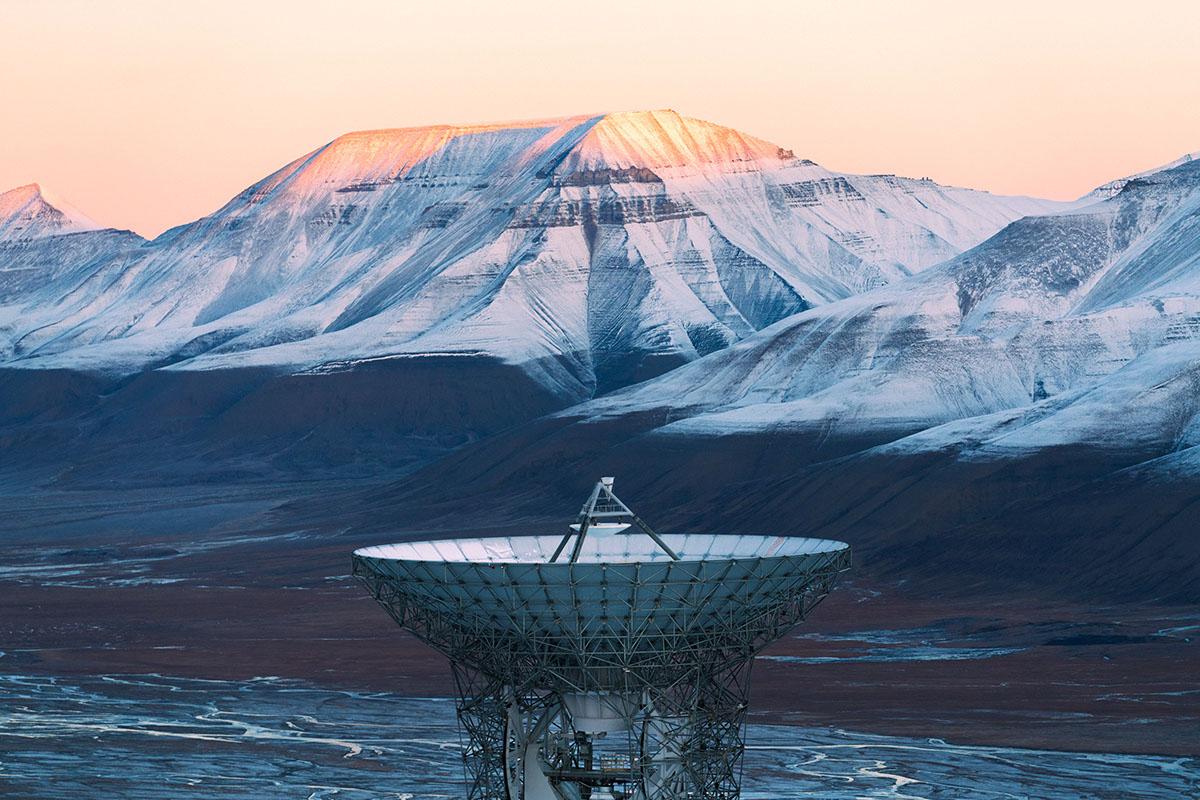 Станция KSAT Satellite Station на снимках Рубена Ву