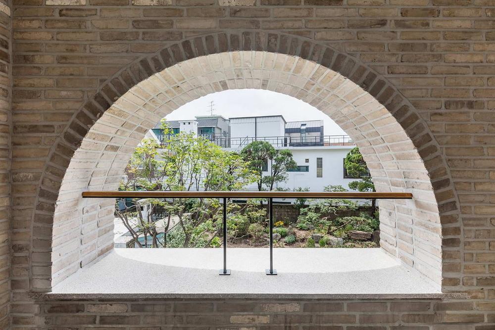 Загородный дом профессора в Южной Корее