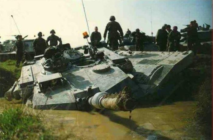 Аварии и происшествия с танками и танкистами