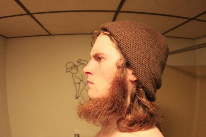 Когда борода не придаёт брутальности