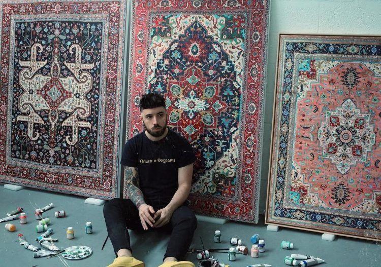 Детализированные картины-ковры