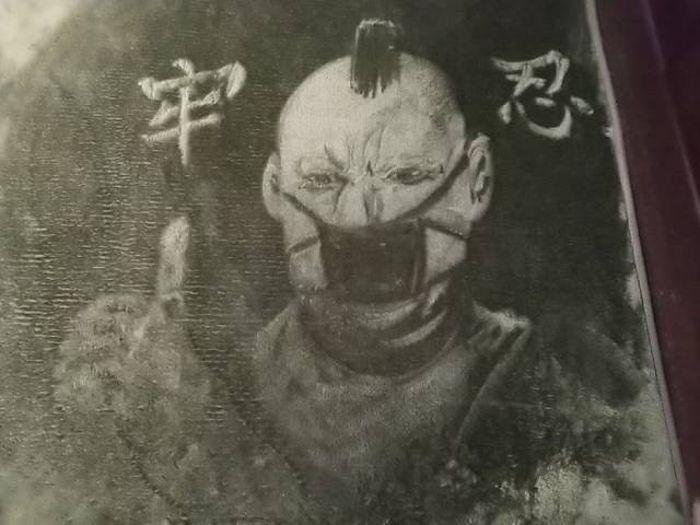 Герои японской культуры на необычных коврах