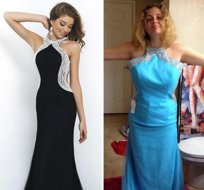 Платья из интернет-магазинов: ожидание и реальность