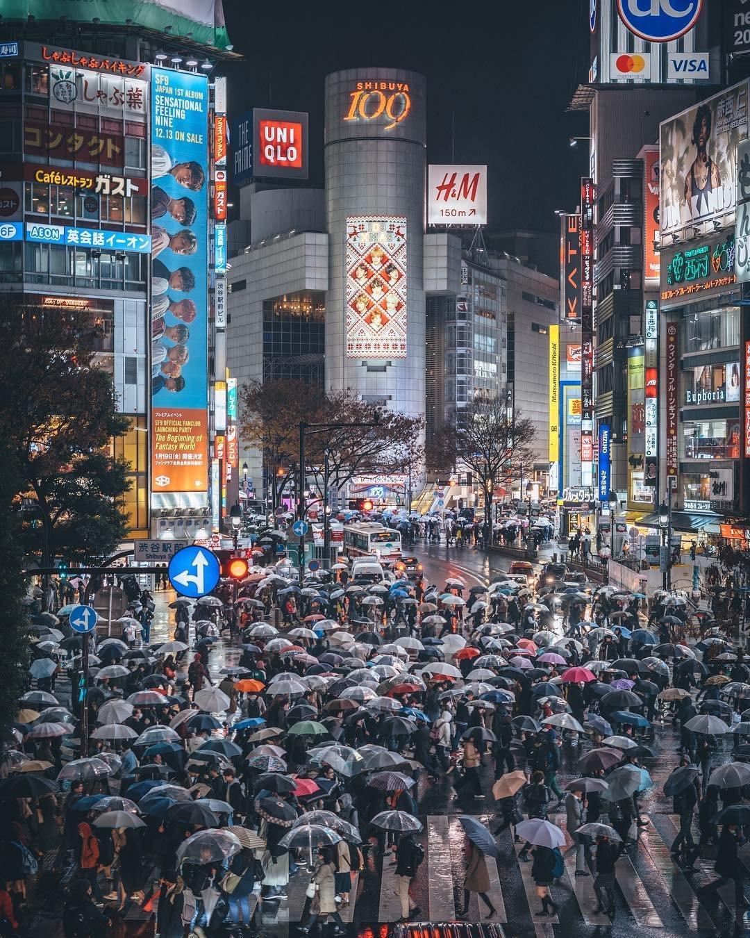 Улицы Токио на снимках от RK