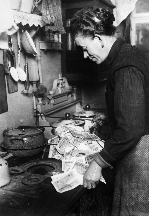 Инфляция в Германии в 1923 году