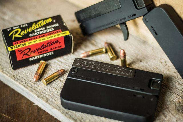 Карманный пистолет для самообороны LifeCard