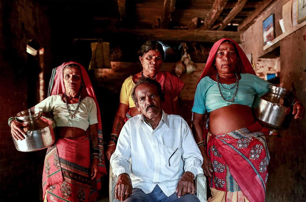 Фотопроект о жизни сельской глубинки Индии