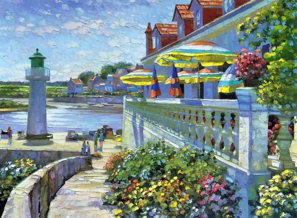 Солнце, море и путешествия на картинах американского художника