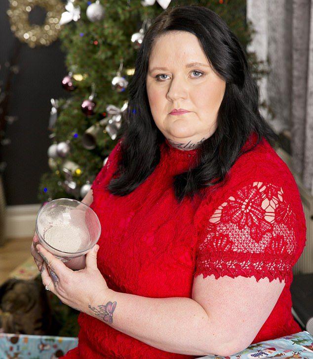 Британка съест на Рождество прах матери