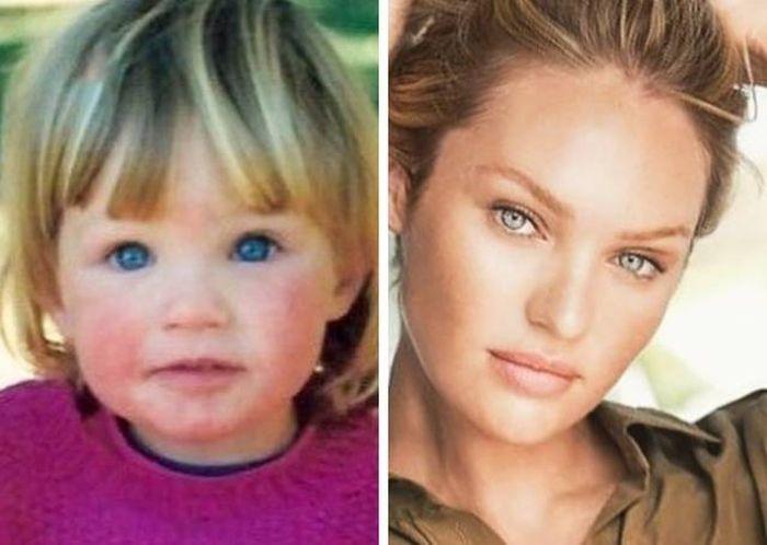 Детские снимки знаменитых женщин