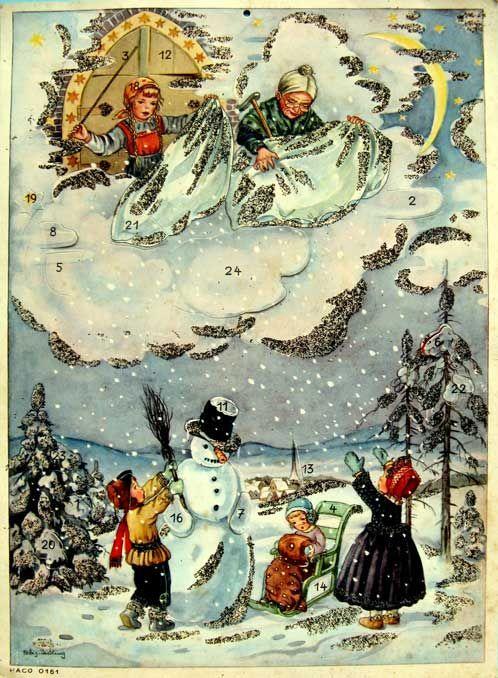 Кто приходит на Рождество к плохим детям