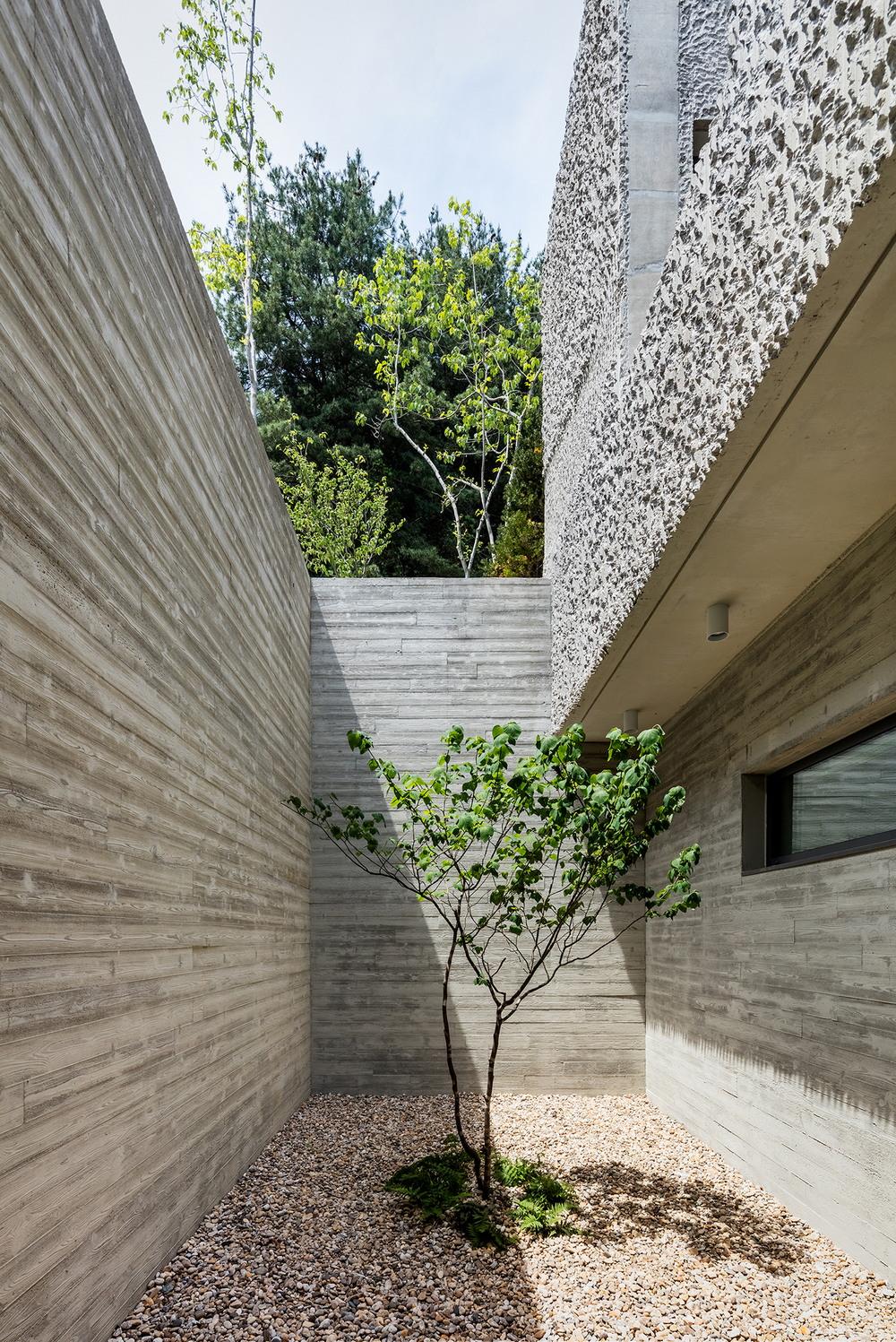 Дом для музыканта в Южной Корее