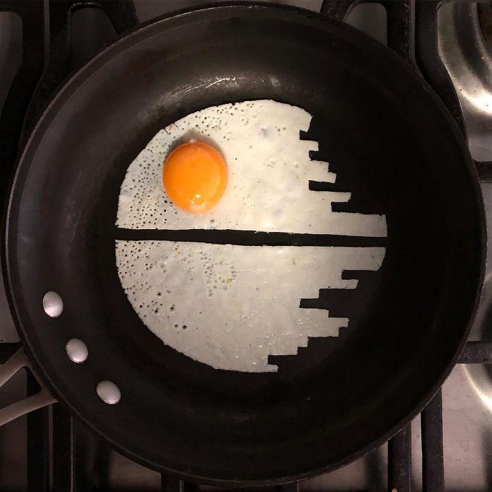 Мексиканка превращает яичницу в произведения искусства