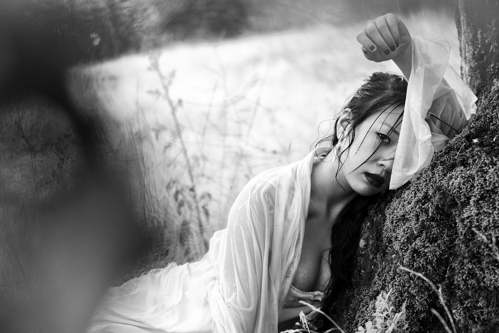 Снимки в жанре Ню от Ребеки Сарай