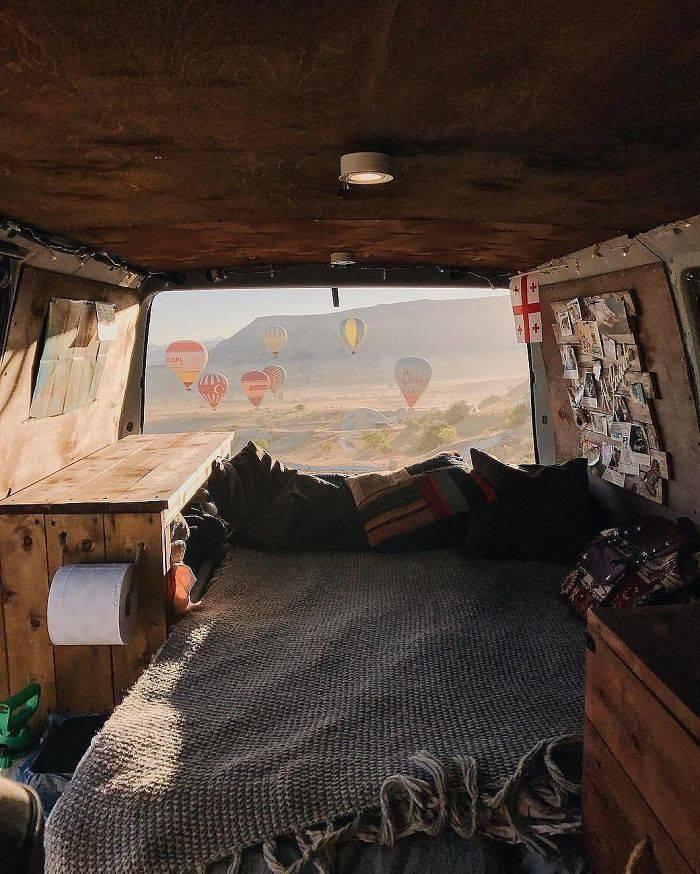 Фотографии путешествий из инстаграма Project Van Life