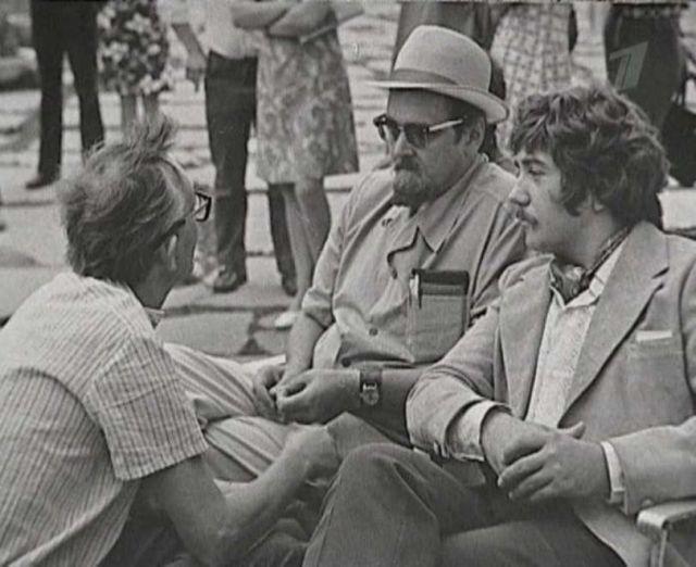 Кадры со съемок любимых советских фильмов
