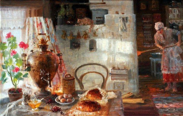 Любопытное об истории русской печи