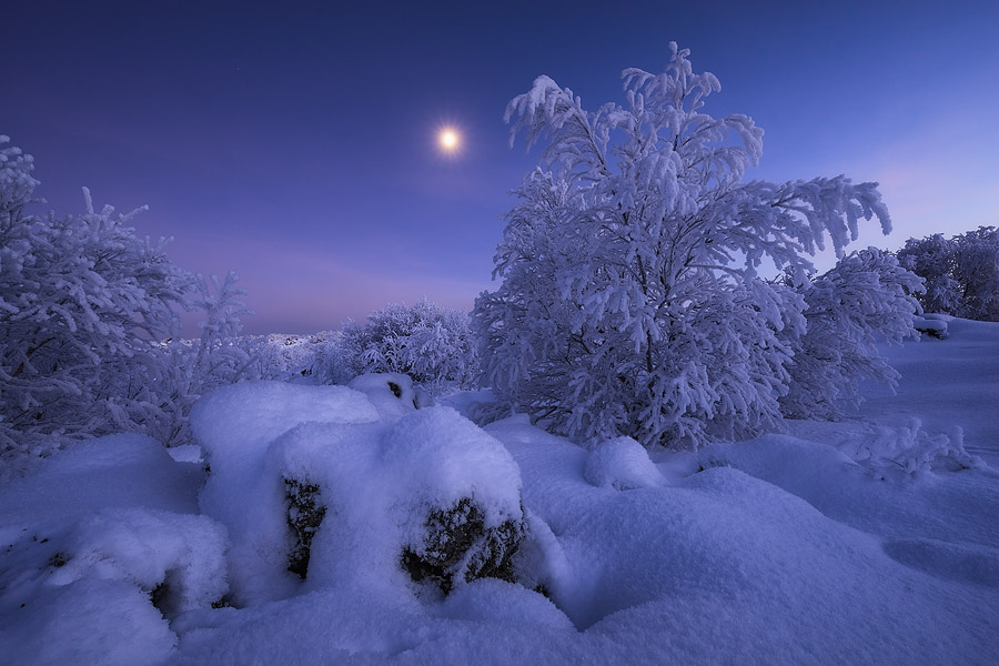 Красоты зимней Исландии на снимках Эреза Марома