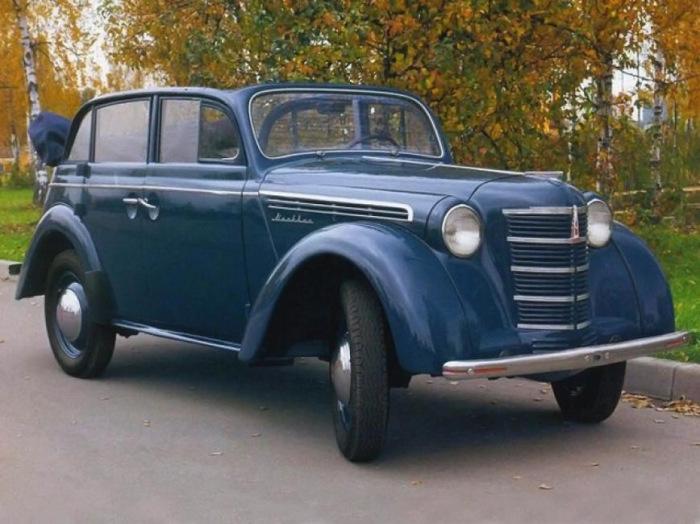 Советские машины, которые очень похожи на иномарки