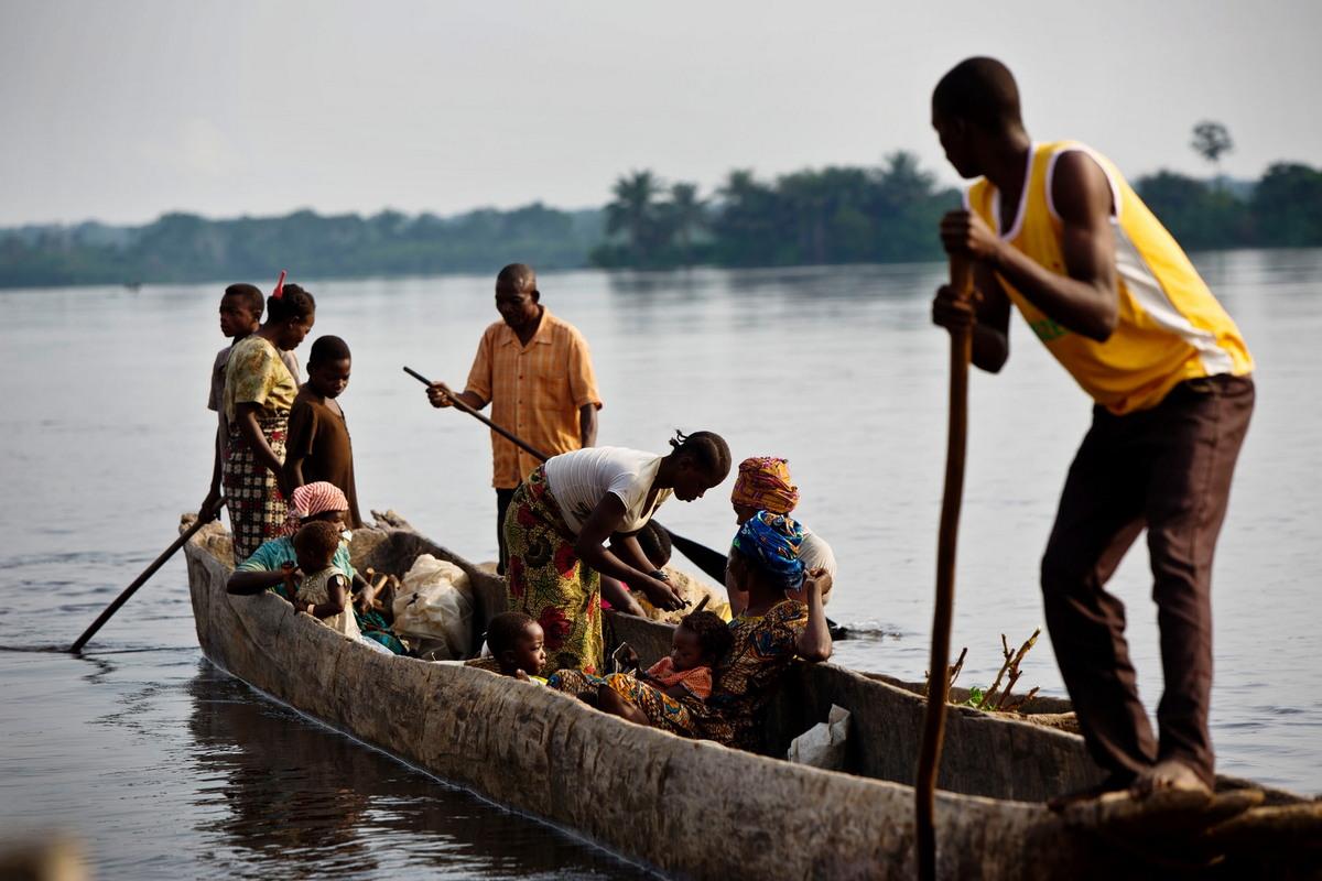 Жизнь на реке Конго