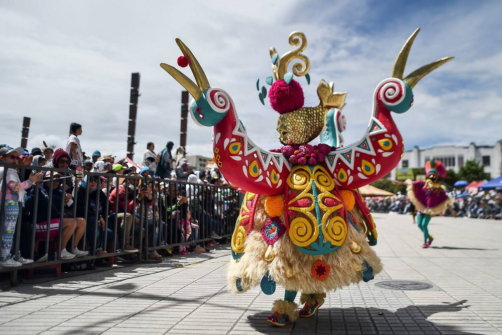 Карнавал Черных и Белых в Колумбии