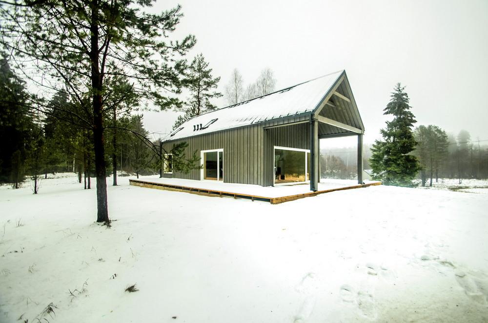 Охотничий домик в литовском лесу