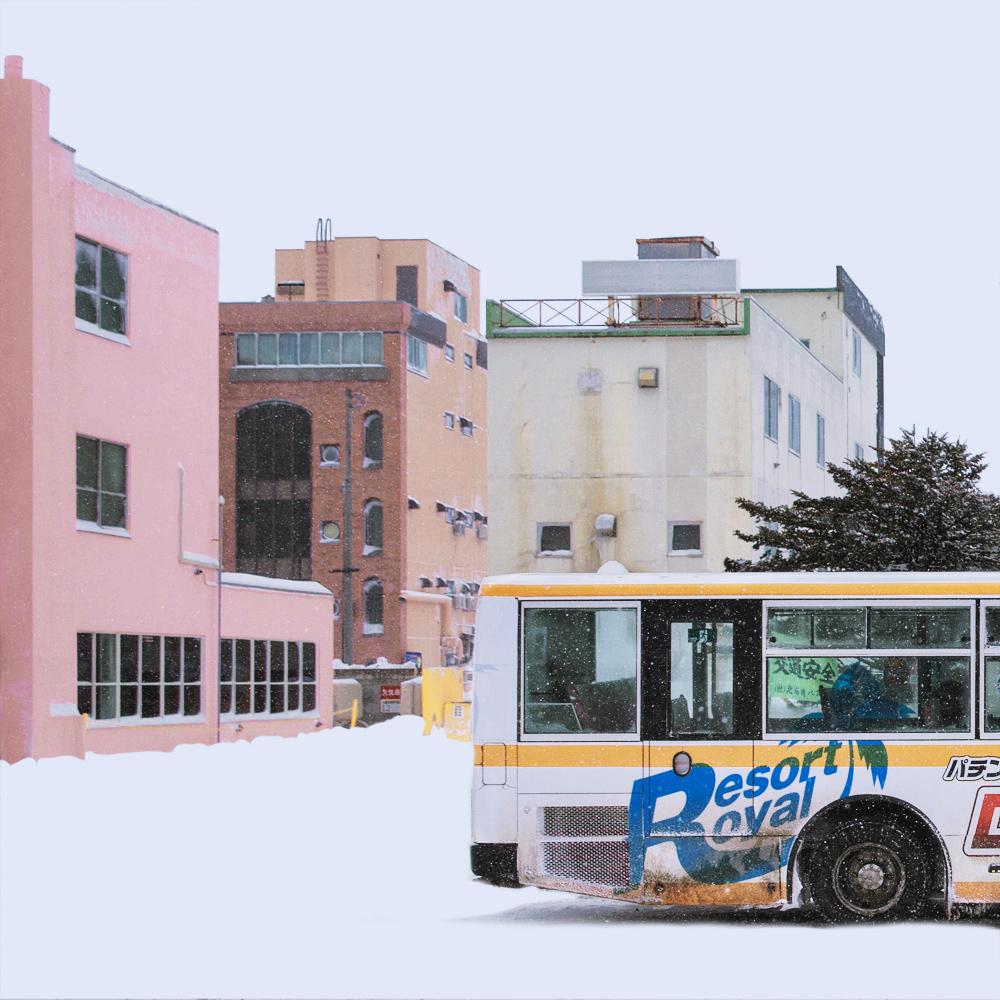 Тишина и одиночество заснеженных японских городов