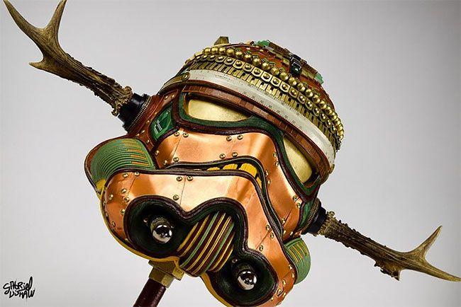 Шлемы Звездных Войн из сумок Louis Vuitton