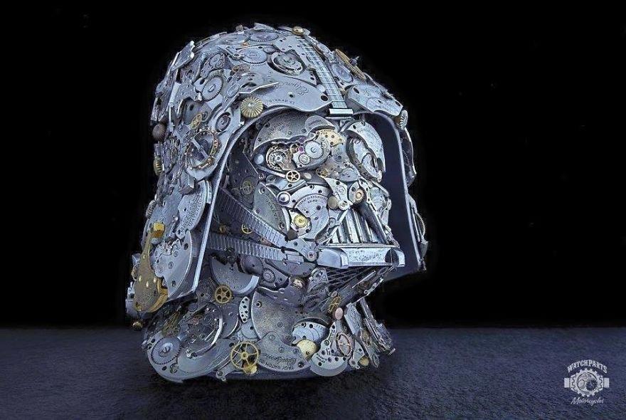 Стимпанк-скульптуры от Дэна Таненбаума