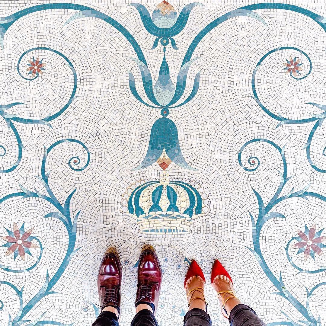 Мозаичные полы от Себастьяна Эрраса