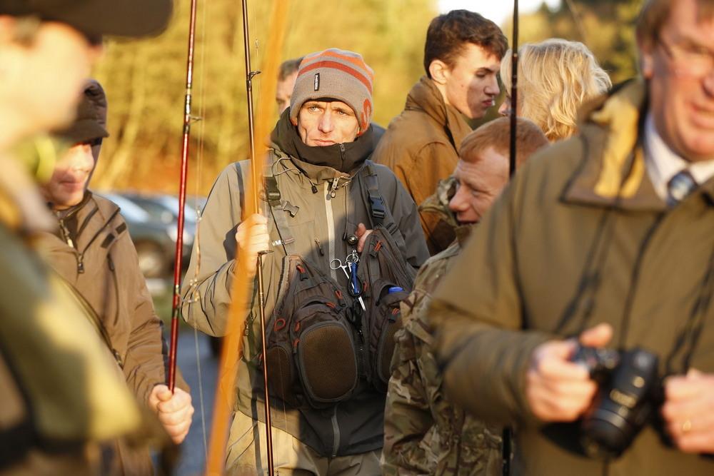 Открытие сезона ловли лосося на шотландской реке Тэй