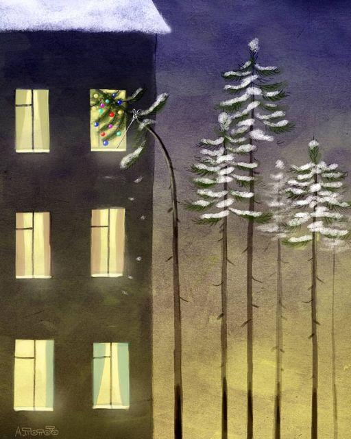 Иронические рисунки от Андрея Попова