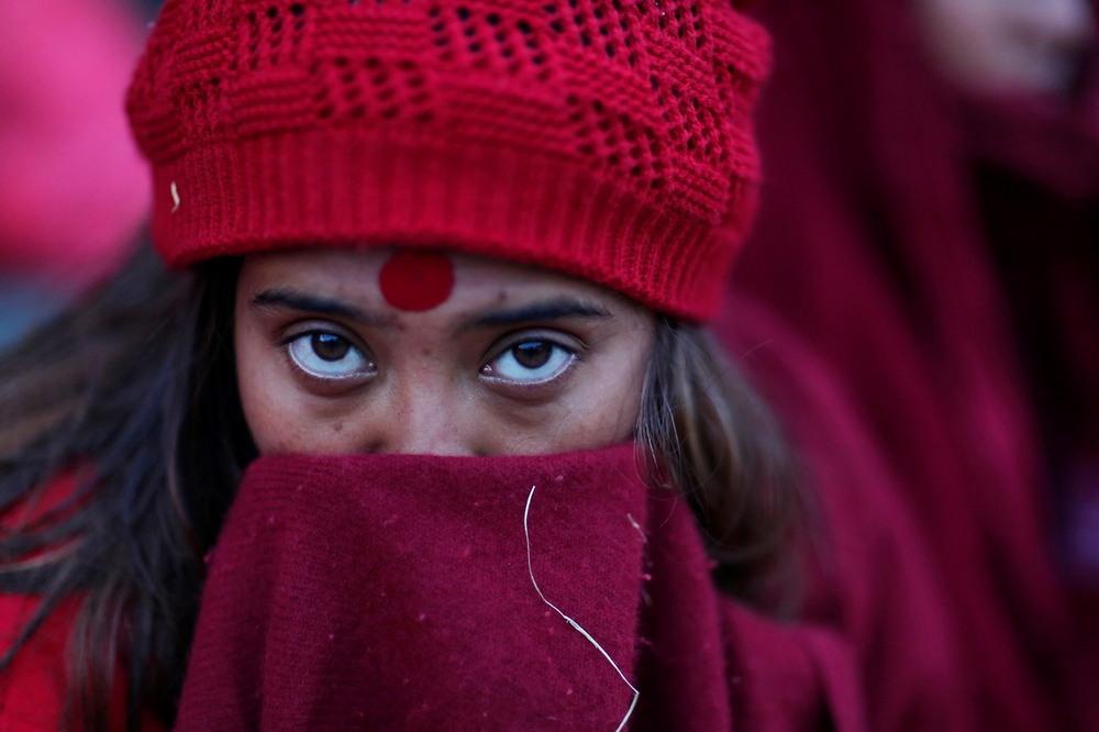 Священное купание в Непале
