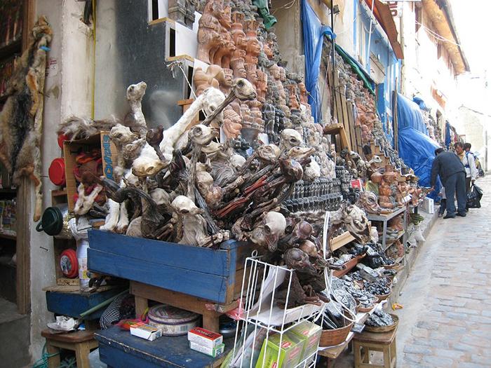 Рынок для ведьм в Ла-Пасе