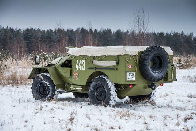 Бронированный внедорожный кабриолет БТР-40