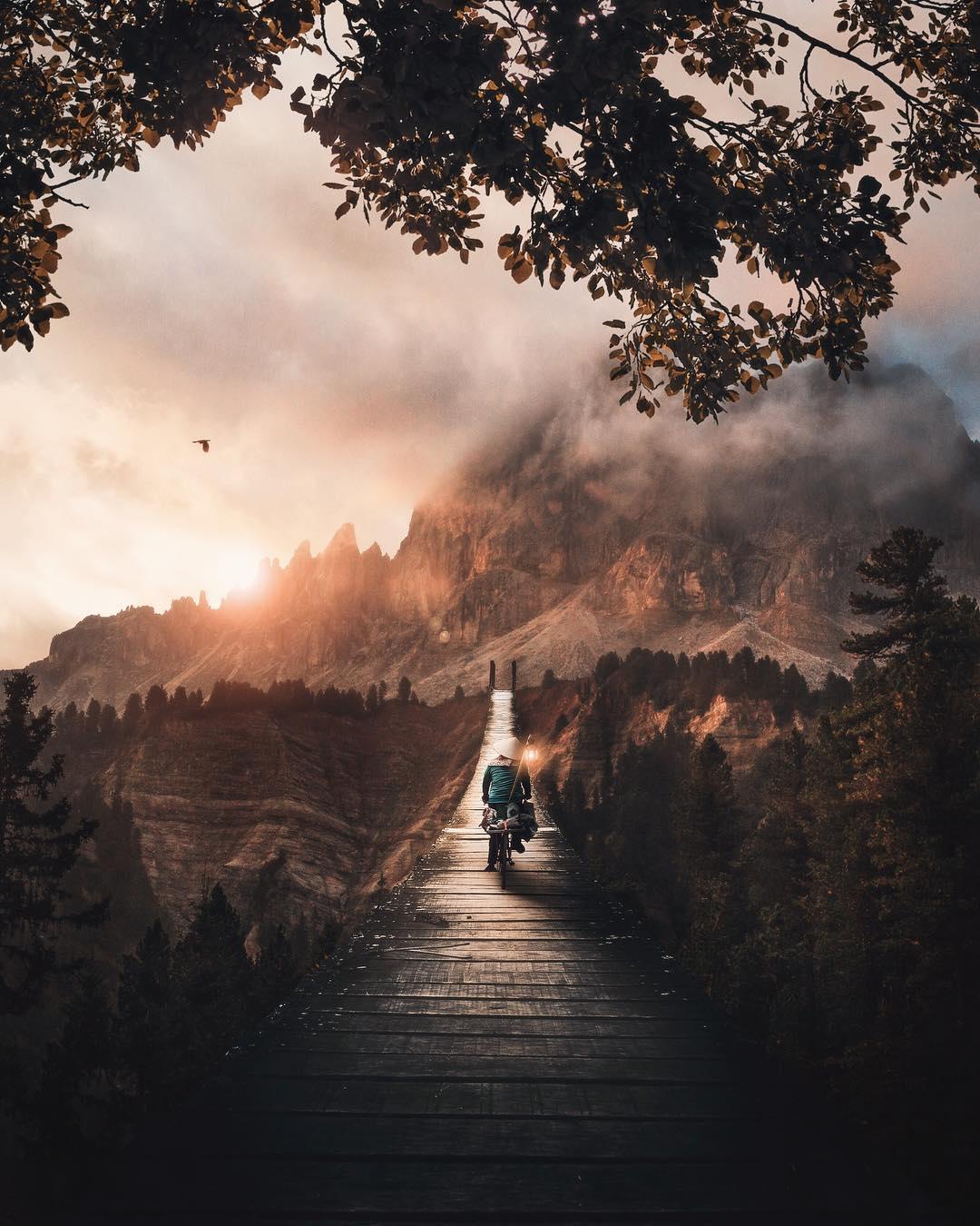 Сказочные фотоманипуляции от Уэсли Грима