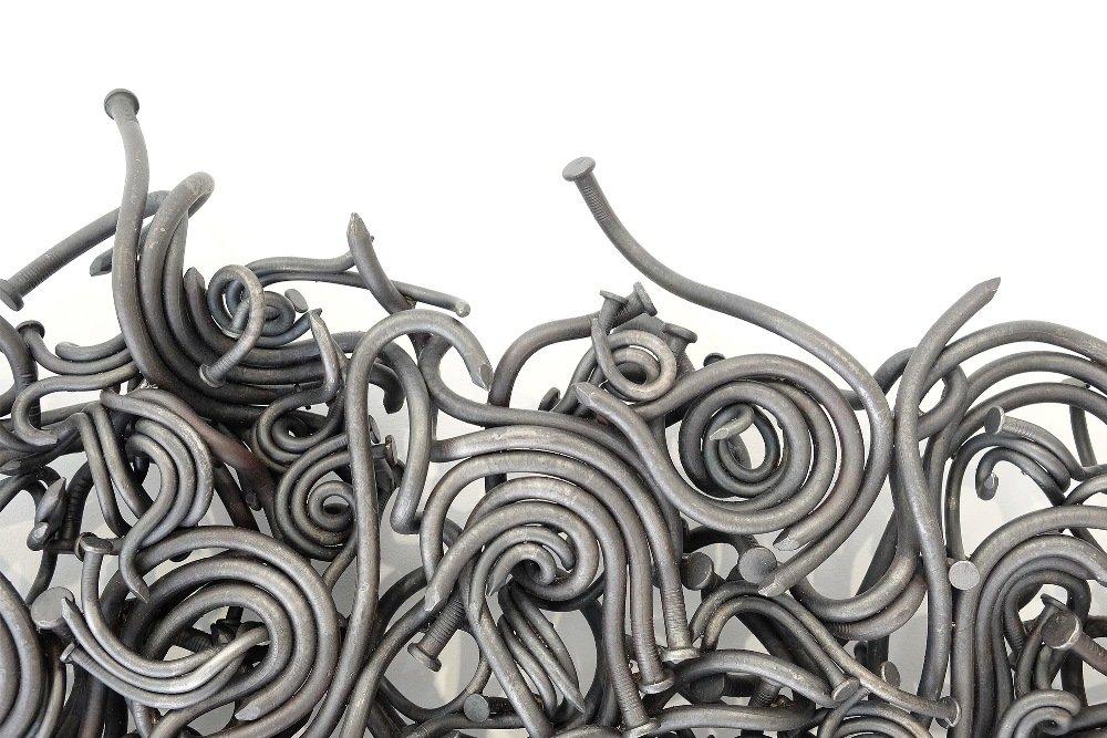 Скульптуры из гвоздей от Джона Бисби