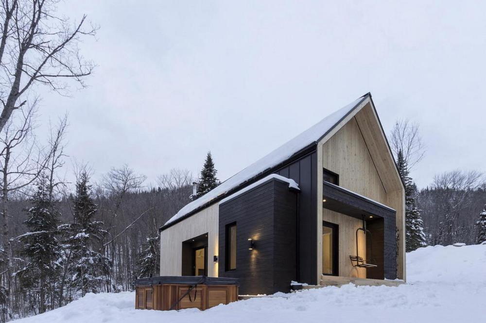 Уютная вилла в лесах Квебека