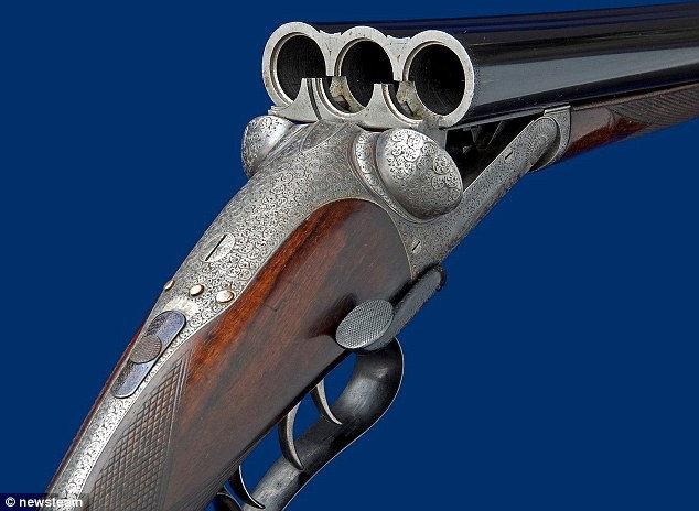 Единственная в мире трехствольная винтовка 1891 года