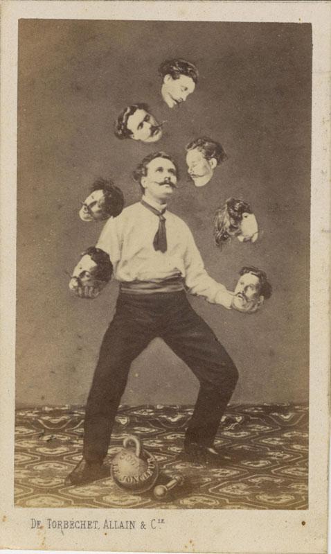 Техника фотошопа прошлого